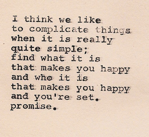 Simple Life Advice