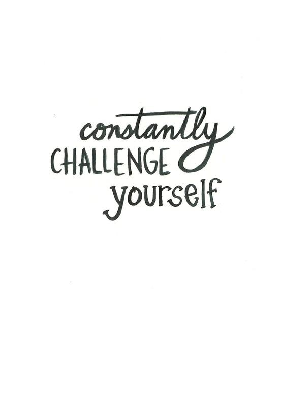 always challenge