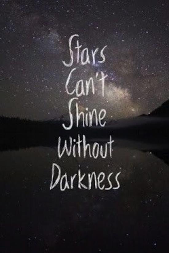 when its dark enough