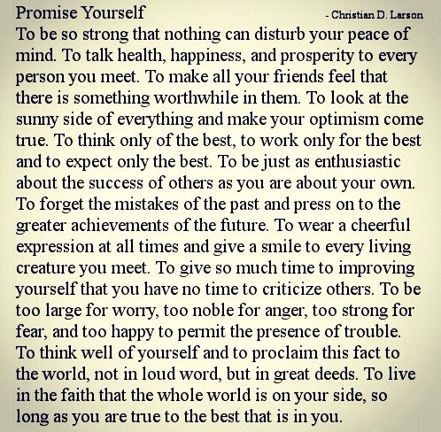 the best that is in you