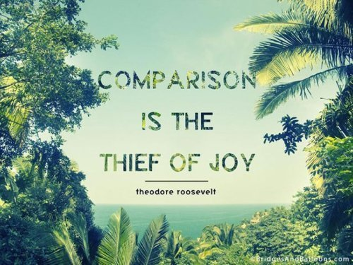 do not compare