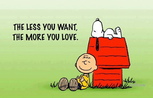 want less love more