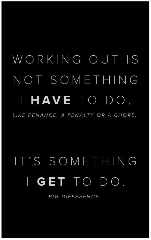 get to do